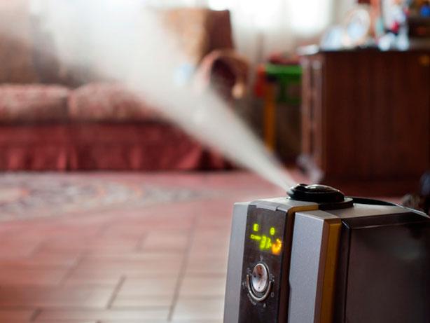 El uso de humidificadores en invierno