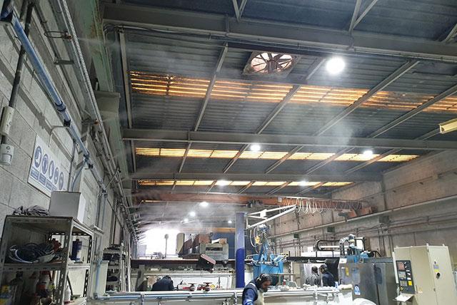 Nebulizadores industriales: la solución pertinente para la humedad en las industrias